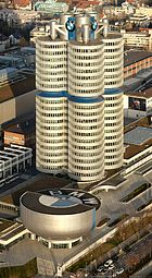 BMW tower seen from Olympic tower on a sunny November afternoon.jpg