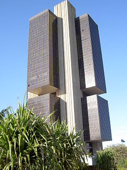 Main seat of Central Bank of Brazil
