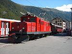 BVZ HGe 4/4 I No. 11 at Zermatt.