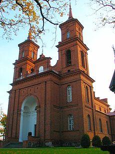 Église Saint-Pierre et Paul de Panevėžys