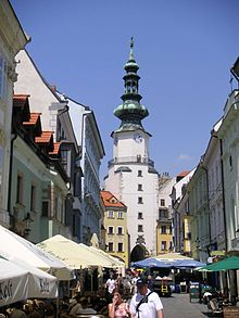 Michalská brána (stadspoort)