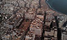 Bab El Oued vue du ciel