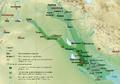 Ubicación de Imperio babilónico