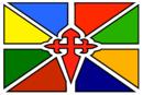 Banderade Santiago de los Caballeros de Mérida