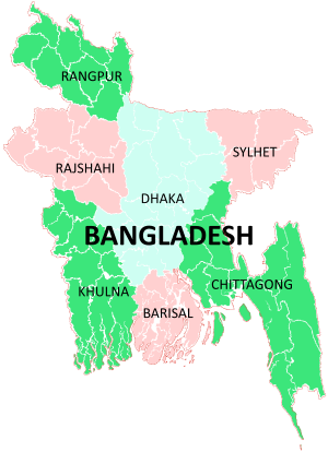 Divisions of Bangladesh