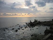 Barranquilla, el mar desde las Bocas de Cenizas-20050625 .jpg