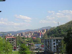 Vue générale de Basauri