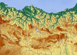 (Voir situation sur carte: Montagnes basques)