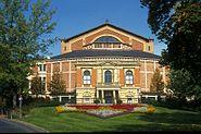 Het Richard-Wagner-Festspielhaus, geopend in 1876.