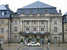 Het Markgräfliches Opernhaus, geopend in 1750.