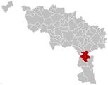 Beaumont Hainaut Belgium Map.png