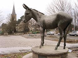 Statue d'âne