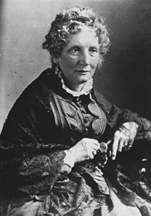 Portrait d'Harriet Beecher Stowe.