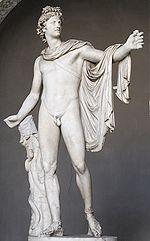 Apollo Belvedere, ca. 120-140 CE.