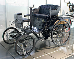 "Carl Benz&squot; ""Velo""-model uit 1894"