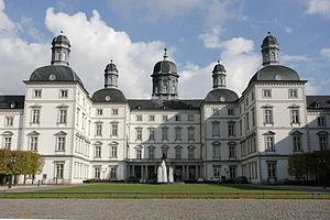 Forecourt of Schloss Bensberg