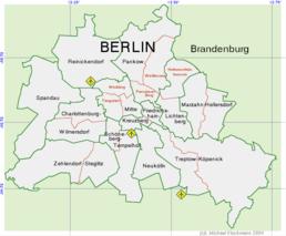 Districten van Berlijn