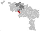 Bernissart Hainaut Belgium Map.png