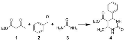 Biginelli Reaction Scheme.png