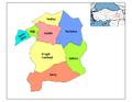 Districts of Bingöl