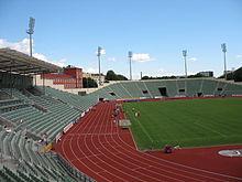 Le Bislett stadion d'Oslo