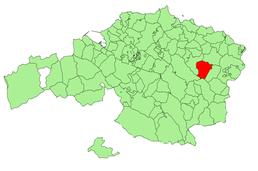 Localisation de Munitibar-Arbatzegi Gerrikaitz