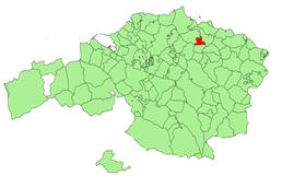 Localisation de Murueta