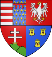 Blason Louis Ier de Hongrie.svg