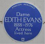 Blue plaque Edith Evans.jpg