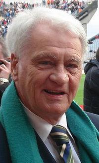 Robson at the Republic of Ireland versus Slovakia match, Croke Park, Dublin