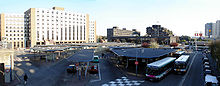 Vue de la gare routière de Bobigny - Pablo Picasso.