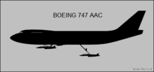 Silhouette aircraft diagram.