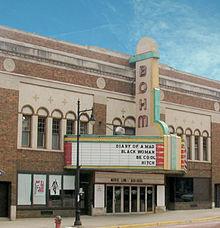 Bohm Theatre Albion Michigan