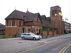 Borehamwood - All Saints Church - geograph.org.uk - 387154.jpg