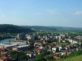 Vue générale de Novi Grad