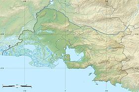 (Voir situation sur carte: Bouches-du-Rhône)