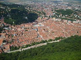 Vue de Brașov