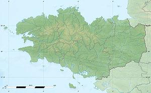 (Voir situation sur carte: Bretagne)
