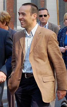 Huidig voorzitter Bruno Tobback tijdens een 1 mei-viering in 2007