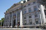 Banco de la Nación Argentina frente a la Plaza de Mayo.