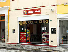 A Burger King in Oaxaca, Mexico