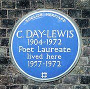 Maison de la famille Day-Lewis à Greenwich