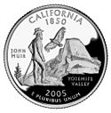 Quarter of California