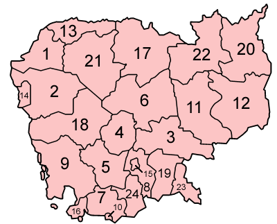 Cambodia provinces numbered.png