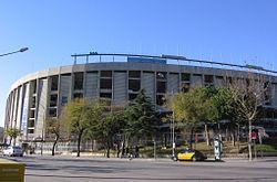 Vista exterior del Camp Nou