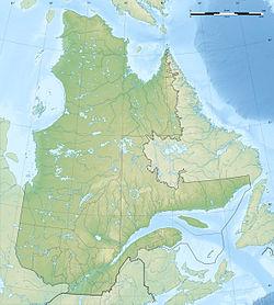 (Voir situation sur carte: Québec)