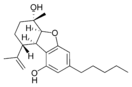 Chemical structure of cannabielsoin.
