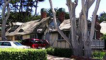 Photographie de maisons locales de Carmel-by-the-Sea
