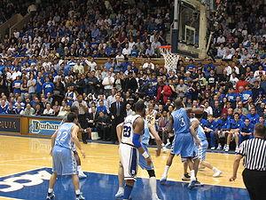 Carolina-Duke basketball 2006 1.jpg