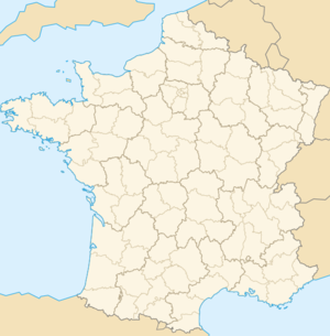 Ubicación de Le Lion-d'Angers en Francia